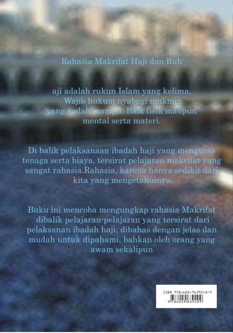 Buku-Rahasia Makrifat Haji dan Ruh-Sampul belakang